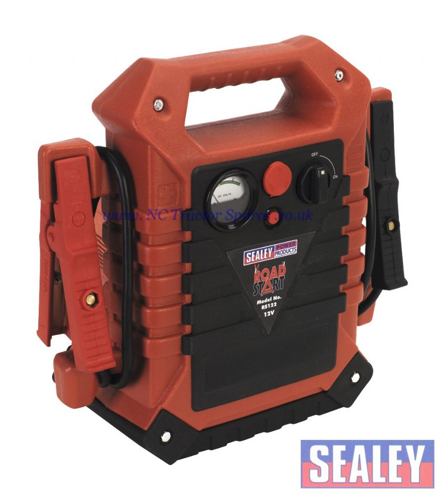 RoadStart Emergency Power Pack with Air Compressor 12V 900 Peak Amps